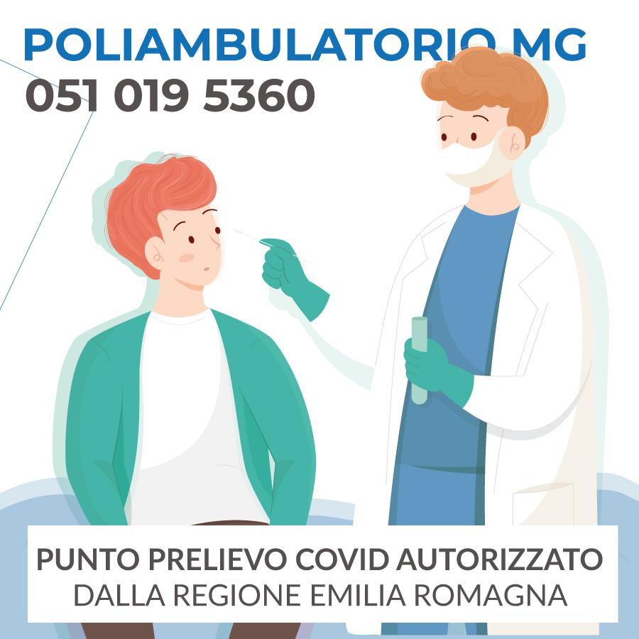 Punto prelievo COVID autorizzato dalla Regione Emilia Romagna